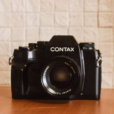 CONTAX RX と Carl Zeiss Planar 1.4/50 と、2019年の船出。